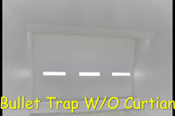bullet trap wo curtain of range system